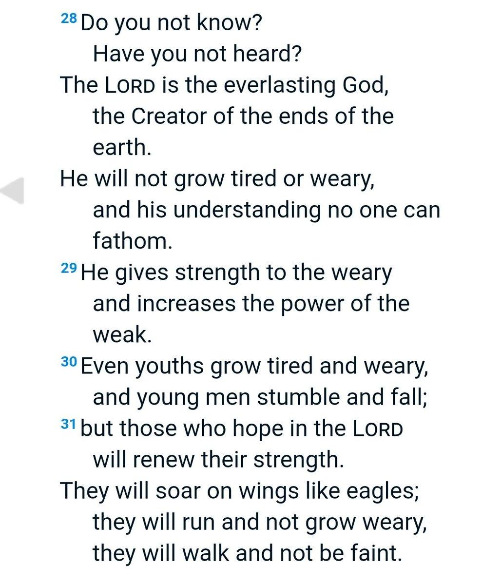 Es realmente acojonante la potencia de Isaías en esta traducción al inglés con la que empieza Hacksaw ridge. Pienso en ella de vez en cuando. https://t.co/Am053sztqS