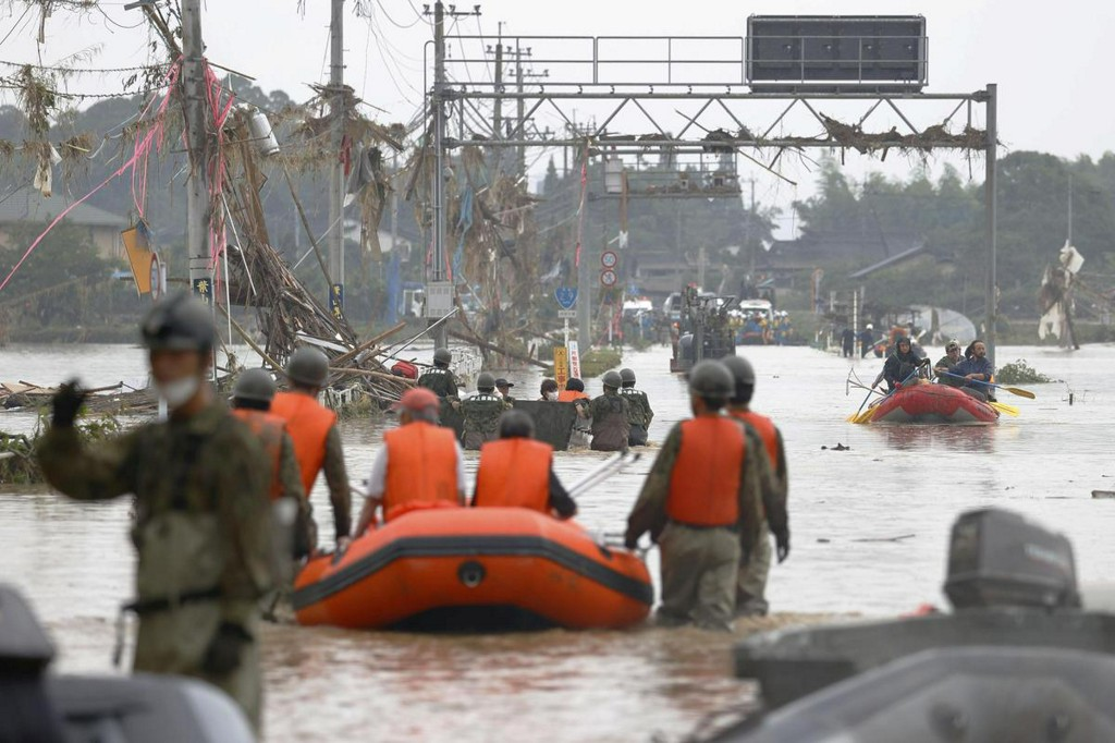 Nearly 40 feared dead as torrential rains hit southwest Japan reut.rs/38sI0r1