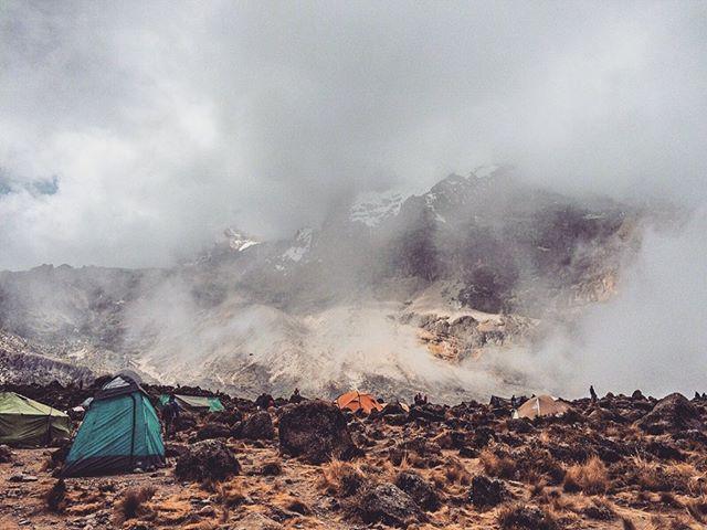 Camping up in the mountain near the summit of Kilimanjaro   #africa #kilimanjaro #highestmountain #kili #mountains #tanzania #travel #hikingkilimanjaro #hiking #trektravel #trek #trekking #challenge #adventure #nature #beautifuldestinations #destination #ourtravelspots #rocks https://t.co/L9TmGzNpl5