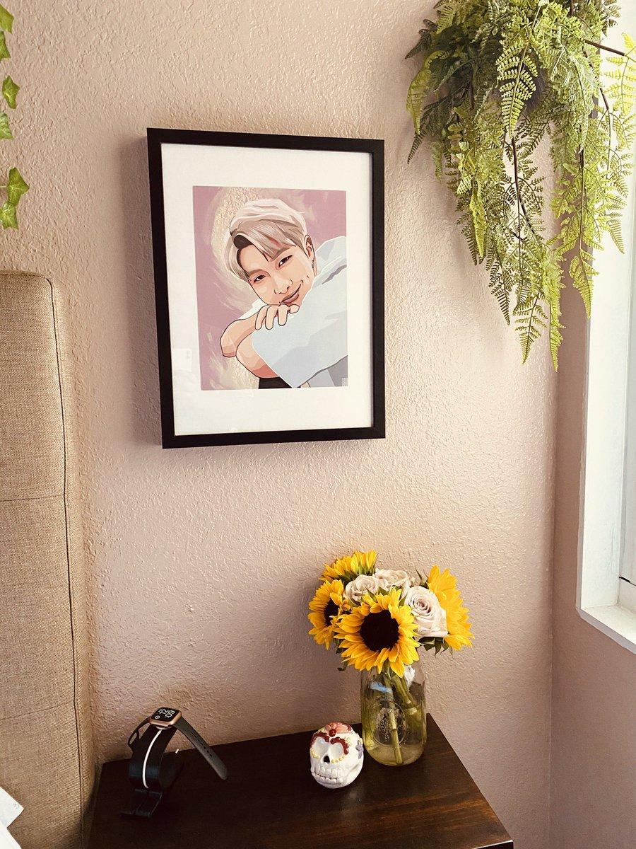 My Happy Place ✨💜 Thank you @ivyy_rose for the vinyl & the Namjoon picture 💜💜    #bts #vinyl #btsvinyl #btson https://t.co/cyHmXc8bTv
