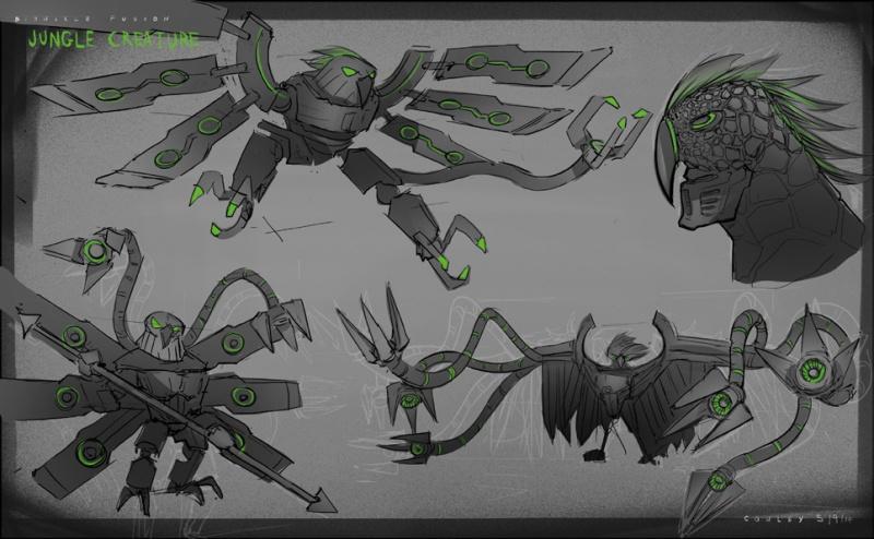 Art of Bionicle: Jungle Creature #Bionicle #LEGO https://t.co/lWj3mZKYXa