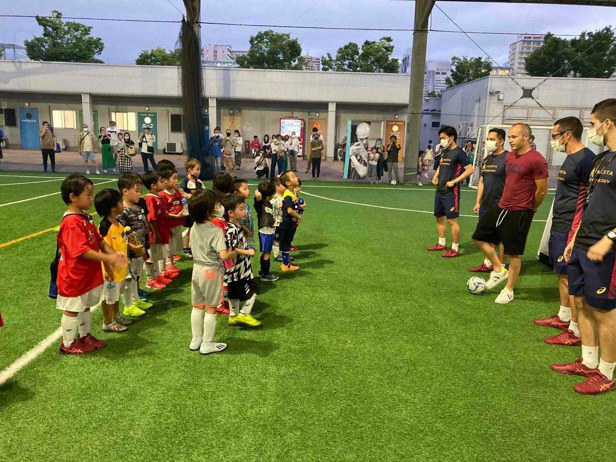 Día de pruebas en nuestra academia 😄☺️🤩 #aprendiendo #futbol #IniestaMethodology    イニスタメソドロジーのセレクション会を実施しました。
