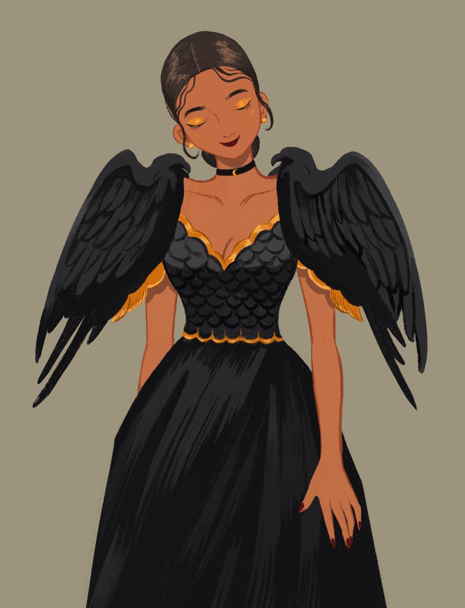 Black Bird Terno Filipiniana 🕊 https://t.co/z7HfsqYRRy