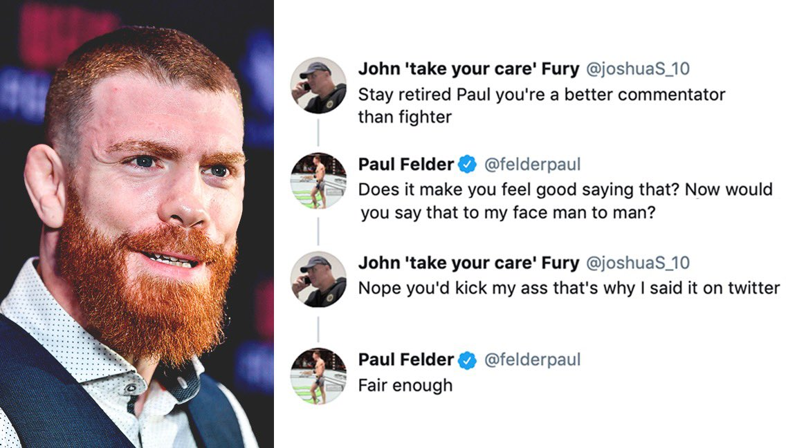 Don't @ UFC fighters! 🤣  This interaction is gold. https://t.co/IJslKeMQwr