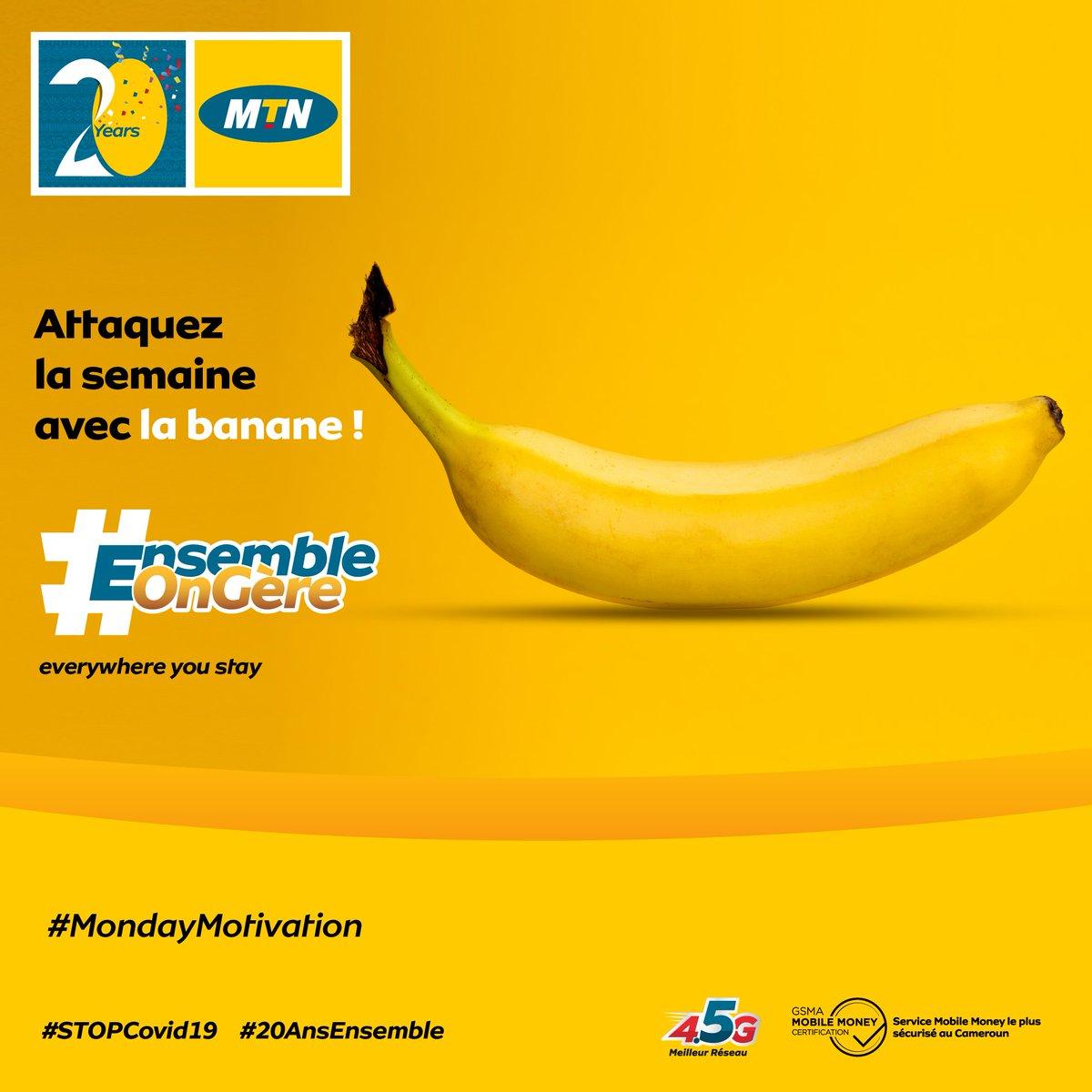 Dites-nous en commentaire ce que signifie l'expression « avoir la banane ». #MondayMotivation #StopCOVID19 #20AnsEnsemble https://t.co/IXSHdy54HN