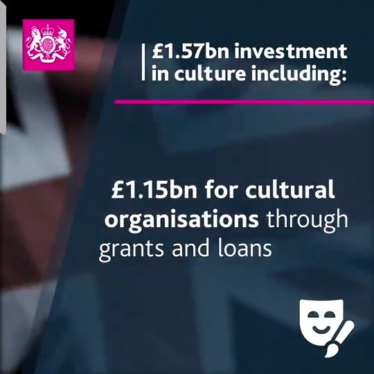 Great news from @DCMS and huge thanks to them and @BFI for all their hard work in achieving this result. Look forward to working with @BFI to ensure this funding has the widest possible benefit. https://t.co/e7fE65DNiR