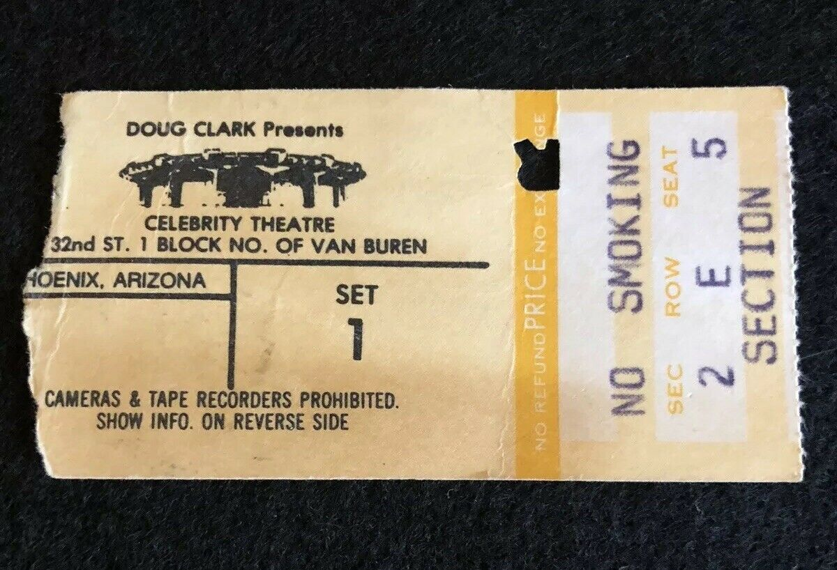 This Day in VH 7/6/1978: @VanHalen plays the Celebrity Theater in Phoenix, Arizona. <br>http://pic.twitter.com/HH6uMM4WQu