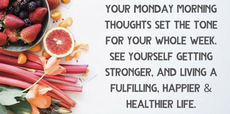 #mondaythoughts Every Monday Matters, lots to do this week 🥰 #MondayMotivaton