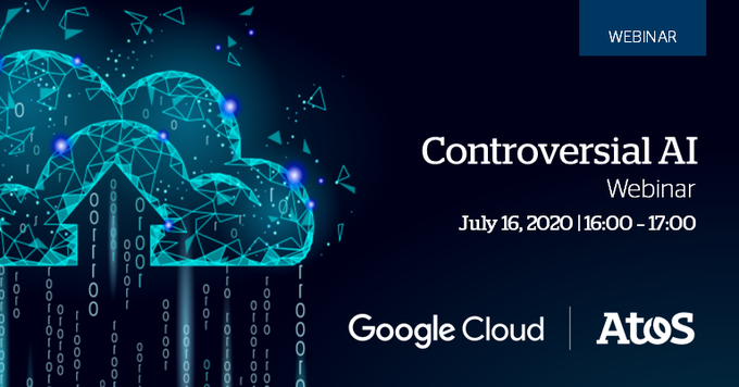 Delighted to see Atos team joining Google cloud as panelists for the Controversial AI...