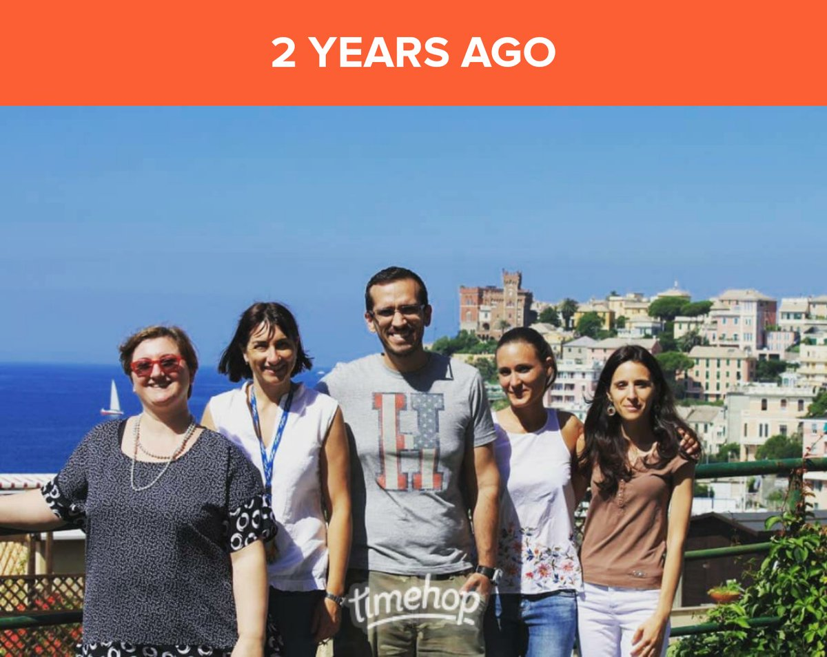 Such a great memory of when I had the opportunity to visit and work at @NicolettaPedem1 lab for one week! They are an amazing team!  #CFresearchers #Genova #Italypic.twitter.com/Fx78OvyQ5F