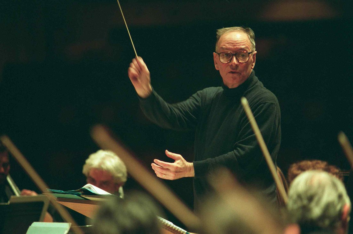 """Music is an experience, not a science."" Rest in peace, Maestro Ennio Morricone."