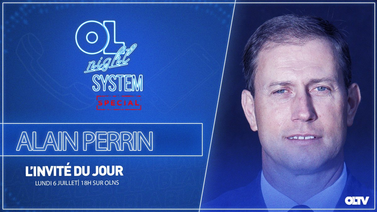 📺 Notre ancien entraîneur, Alain Perrin, sera linvité de @barthruzza ce lundi dans #OLNS ! 📞 Posez vos questions au 04 84 80 69 69 ou en commentaires dès maintenant. Rendez-vous à 18h sur OLTV et OL PLAY !