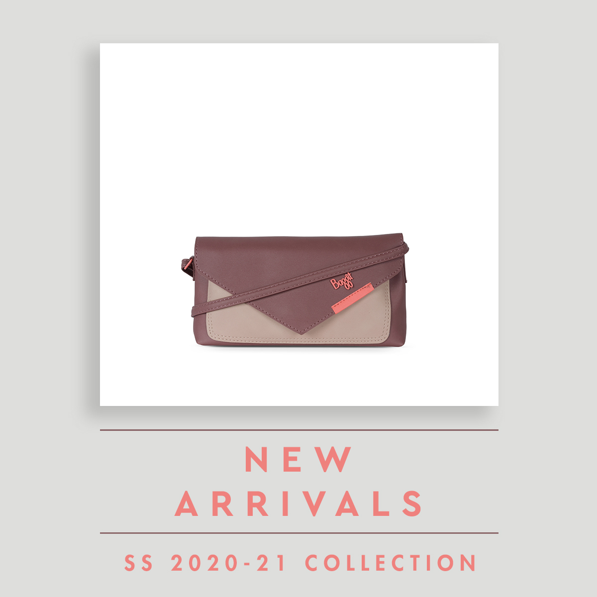 Trending this season wallet-slings featuring envelope-style flap and available in sweet pastel dual colours. #newarrivals #sling #wallet #baggit #madeinindia https://t.co/sIuf6vE7xs