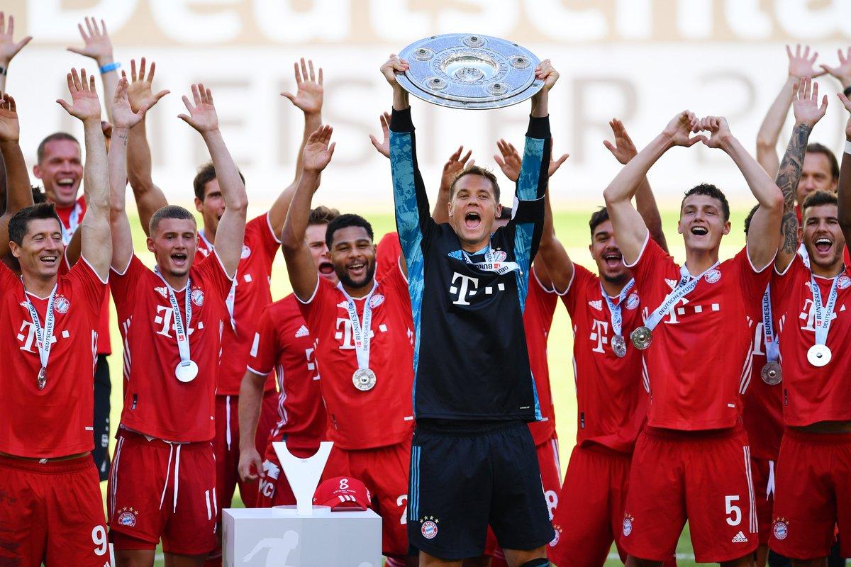 Wir gratulieren unserer #Superbrand @FCBayern zum #Double in dieser ganz besonderen Fußballsaison 2020! Wohlverdient! 🏆💪🚀