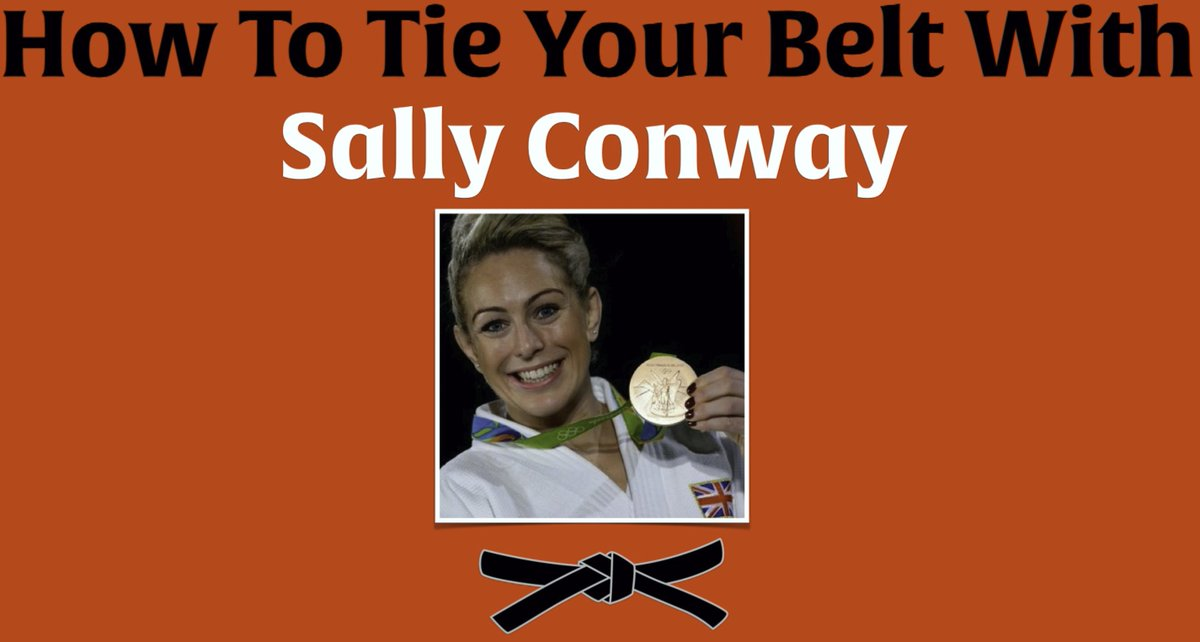 SPEED TIE YOUR BELT Today, Sally Conway, World & Olympic bronze medalist shows us how to tie our belt. Then, Sally ties it as fast as she can. Can you beat her? Give it a try!  https://t.co/BCSKBbKnD2  #judo #belt #speed #fun #olympic #world https://t.co/NlvMIkNBtH