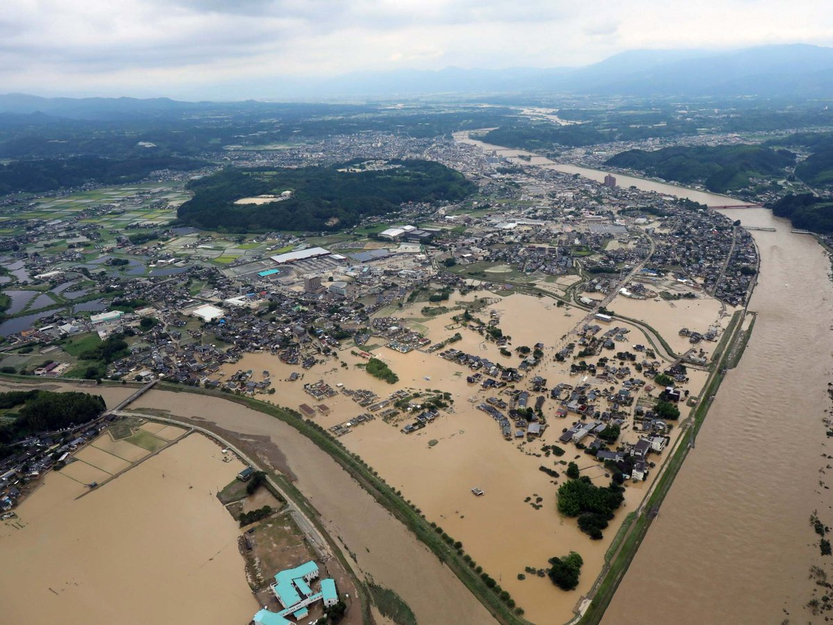 Nearly 40 feared dead as torrential rains continue to batter #Japans southwestern island of Kyushu ddnews.gov.in/international/…