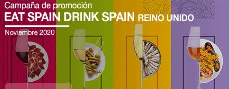 📢¡No pares tú #internacionalización! Con @ICEXReinoUnido organizamos la campaña Eat Spain, Drink Spain para la promoción los #alimentos gourmet y #vinos españoles de calidad ¿Quieres saber más? Todas las actividades en 👉https://t.co/aUrhfLtTqB #FoodsfromSpain #WinesfromSpain https://t.co/IlQPqDaM2l