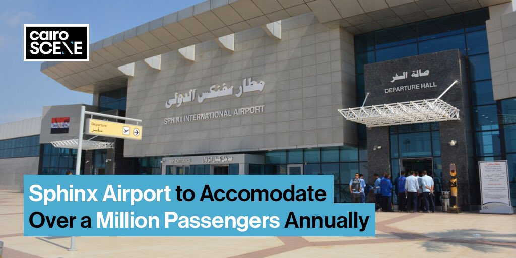 Located only 12KM away from the pyramids, it's no surprise that the Sphinx International Airport has tourists clamouring to fly there. So the Ministry of Aviation has decided to increase the capacity of the airport to over a million travellers per year.   https://t.co/zpVfXxRWsg https://t.co/CwAo1bTa08