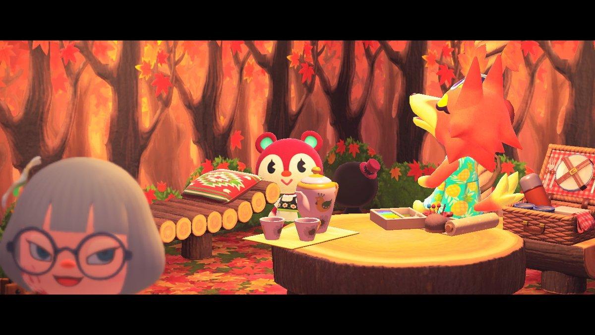 今日も平和です。かわゆい。#どうぶつの森 #AnimalCrossing #ACNH #NintendoSwitch