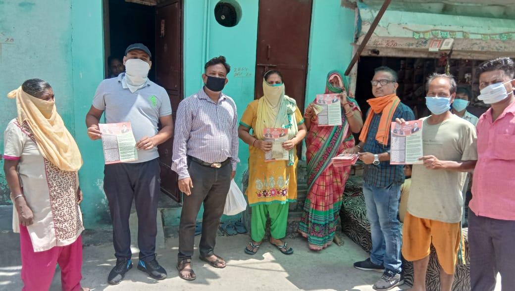 विकासपुरी मंडल 20 एस में कोरोना महामारी के बचाव हेतु रोग प्रतिरोधक क्षमता बढ़ाने वाला काढा़ वितरण किया एवं मोदी सरकार-2 के एक वर्ष की उपलब्धि का पत्रक भी जनता तक पहुँचाया।  #jansamparkDelhi  #1yearofmodi2  @BJP4Delhi  @adeshguptabjp  @siddharthanbjp  @p_sahibsingh https://t.co/grGSwM8ObB