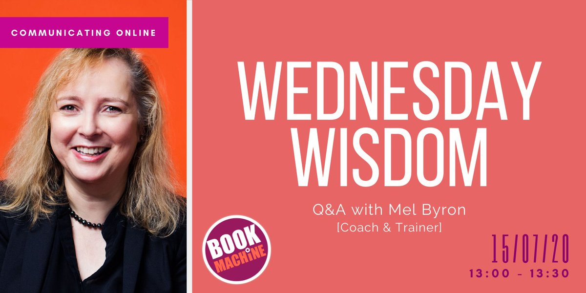 There's no #WednesdayWisdom expert interview this week, but @TheMelByron is joining us on 15th July!  Register here: https://t.co/cud4k0Xfuh  Until then, catch up with all our sessions so far if you're a member. Log in and head to 'Wednesday Wisdom' in the sidebar 💡 https://t.co/Iqg3ViwEns