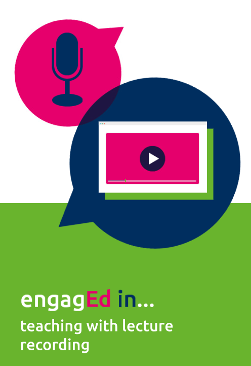 This helpful guide from @EdinburghUni is designed to provide practical advice for teaching with lecture recording in ways that engage students, and which are informed by current research and best practice guidelines: https://t.co/qpe3NjcA56  #FocusOnTEL #highereducation https://t.co/tUVDTAhEuM
