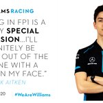 Exciting news!   @JaitkenRacer will be in the car for #FP1 on Friday morning 👌  #WeAreWilliams 💙