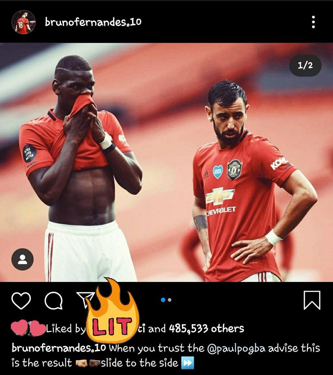 Bruno about Pogba  #instagram pic.twitter.com/G2GvbPWZrP