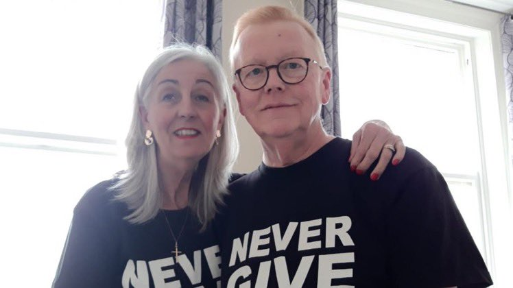 Once a week I'd chat to this lovely lady called Nicola. She said it was OK to cry, if you cry all day that's OK, you've got to let it out. Bereavement support made a huge difference to Donna after her husband died: bit.ly/3dZbBt4