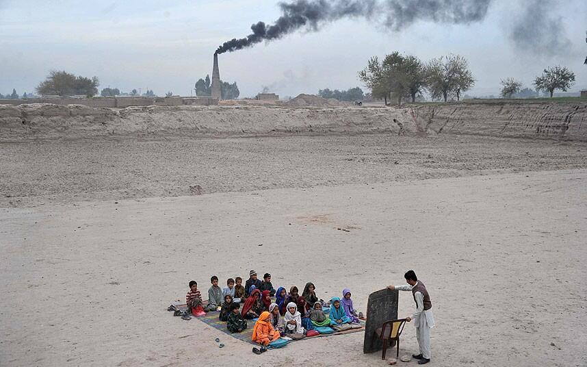 This is a School in Afghanistan.