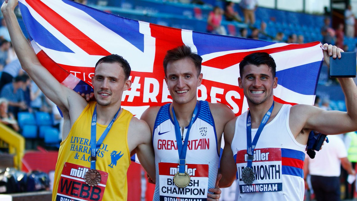 ⏱️ The countdown to British champions being crowned is on once again! 📆 Nine weeks and counting until the #MullerBritishChamps 🤔 After last years thrilling races, who will come out on top in our middle-distance showdowns in 2020?