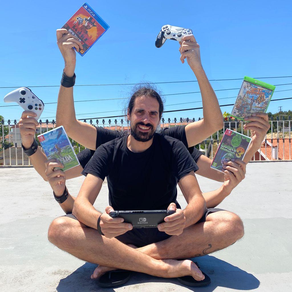 Decisões... decisões... Na hora de jogar, nunca sei que consola escolher! Também vos acontece? #nintendo #nintendoswitch #Xbox #playstation #gaming #retrogaming #gaminglife #gamingphotography #gamer4life #gameroom #gamingmoments #gamingcommunitypic.twitter.com/IKqIsfca7i