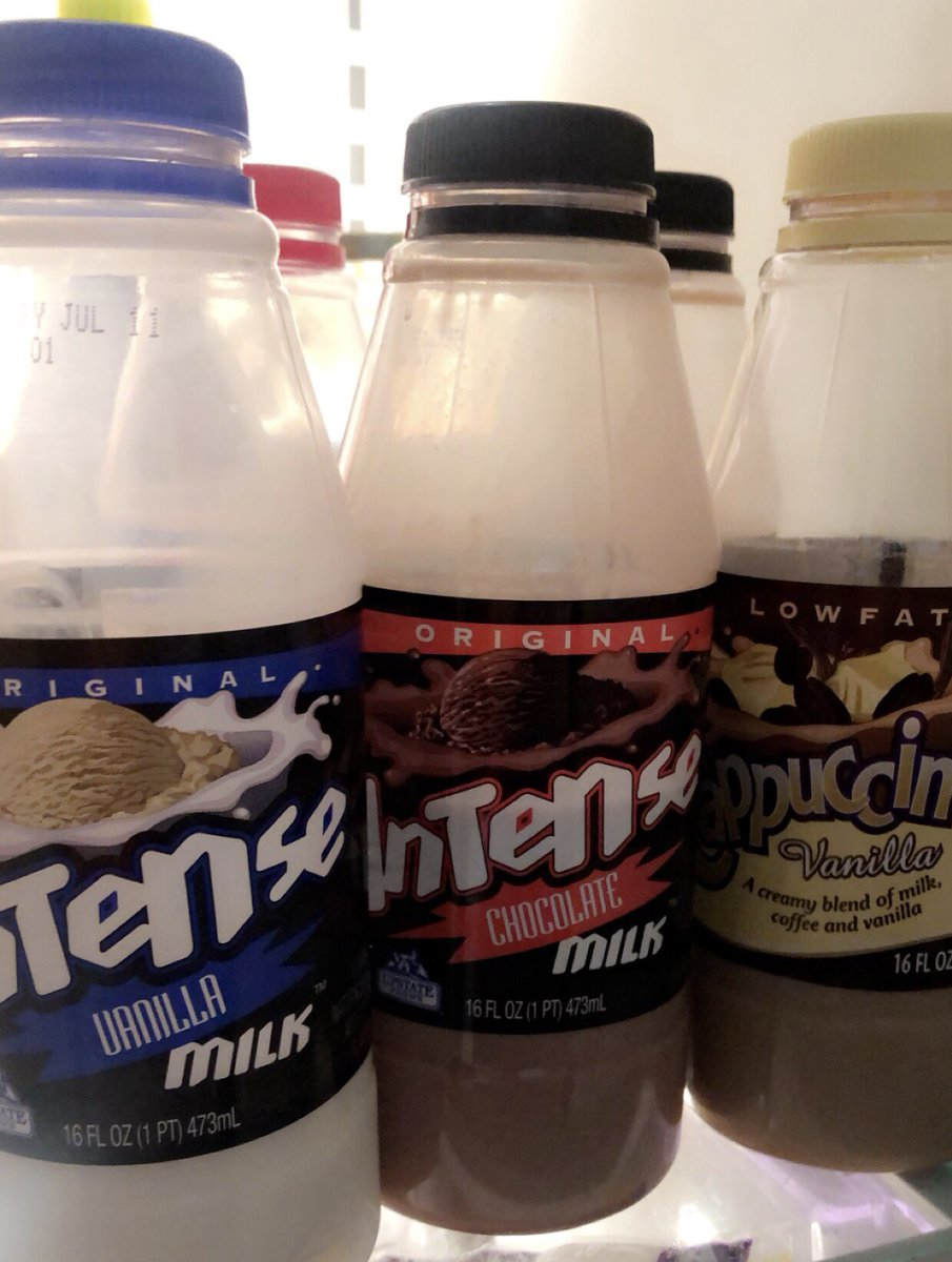 Have you tried these!?!  Just found them at the grocery store and I'm hooked!! #milk @intensemilk @UpstateFarms #yummy #vanilla #chocolate #strawberry #cappuccino https://t.co/OKGWcZ2TAD