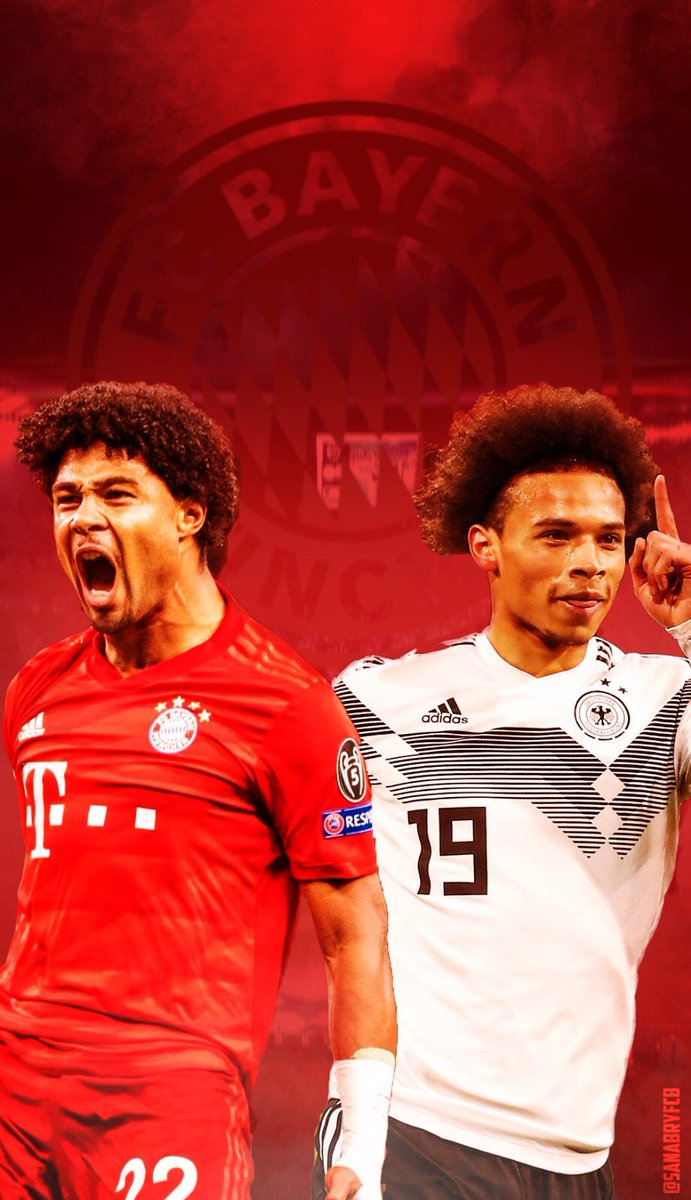 RT @sanabryFCB: #SANABRY ⚡️ BACKGROUND FOR THE PHONE 🔥 @LeroySane19 @SergeGnabry #FCBayern #gnabry #Sane https://t.co/4AIZvkOBp1
