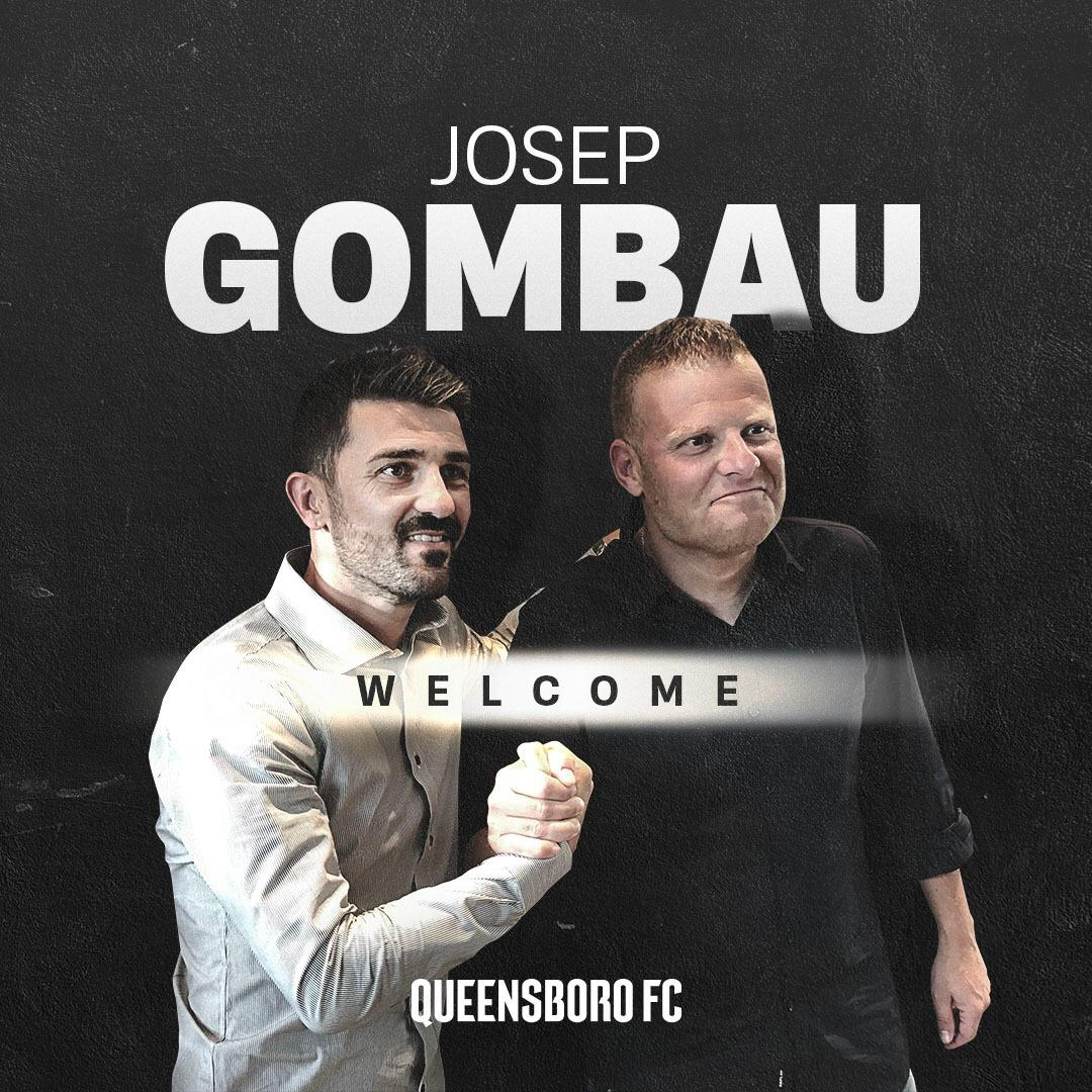 I am beyond happy to count with @GombauJosep as the Head Coach and Sportive Director of @QueensboroFC  The team and soccer in Queens will surely be in good hands with him #WelcomeJosep . . #QueensboroFC #QBFC #JosepGombau #WelcomeJosepGombau #Queens #NYC #DV7Group https://t.co/otuwRjal9f