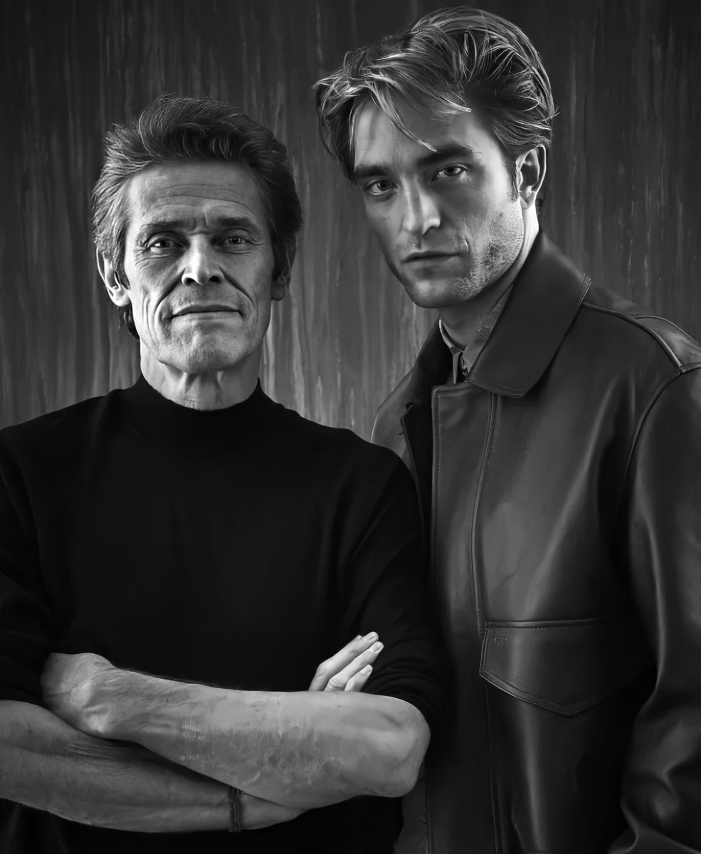 | NEW/Old Portrait of Robert Pattinson and Willem Dafoe by Chris Chapman #TIFF2019 #TheLighthousepic.twitter.com/jCJlgrkspK