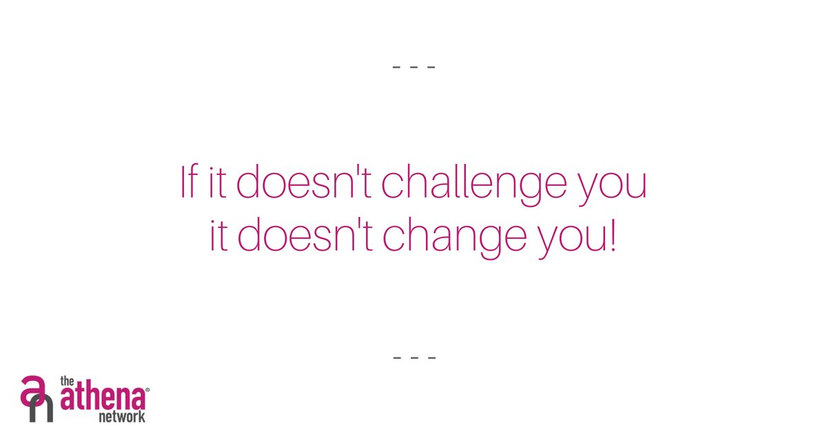 Do you need change? Perhaps you need to take on that challenge!! It's Monday, what a perfect time to start!   Here at the Athena Network there are no limits!  Contact me for more information on our networking meetings for women in business.  #Motivation  #imagination #nolimits https://t.co/93BKJAv1ZU