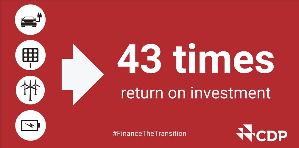 Climate-related investment opportunities in the financial services sector offer up to a 43x return on investment. Learn about our new tools for the financial sector: fal.cn/3902i #FinanceTheTransition