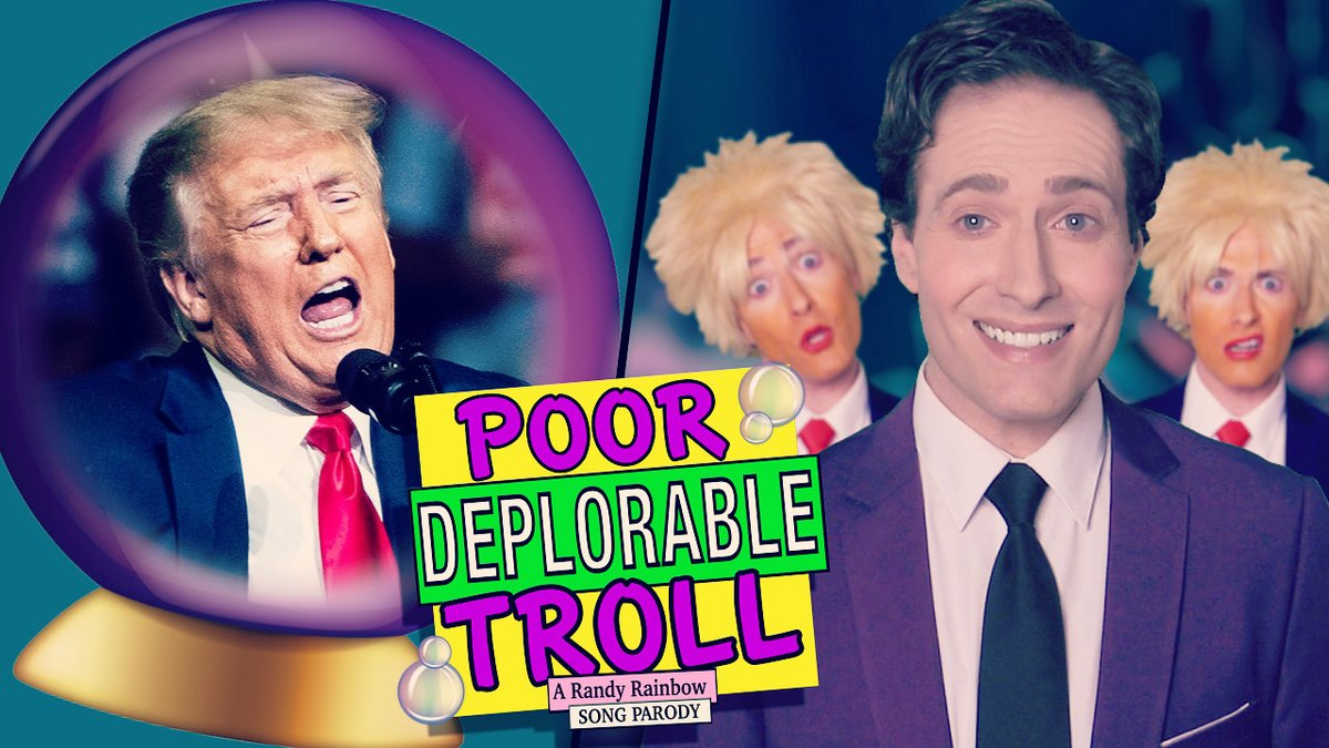 @RandyRainbow is a national treasure.