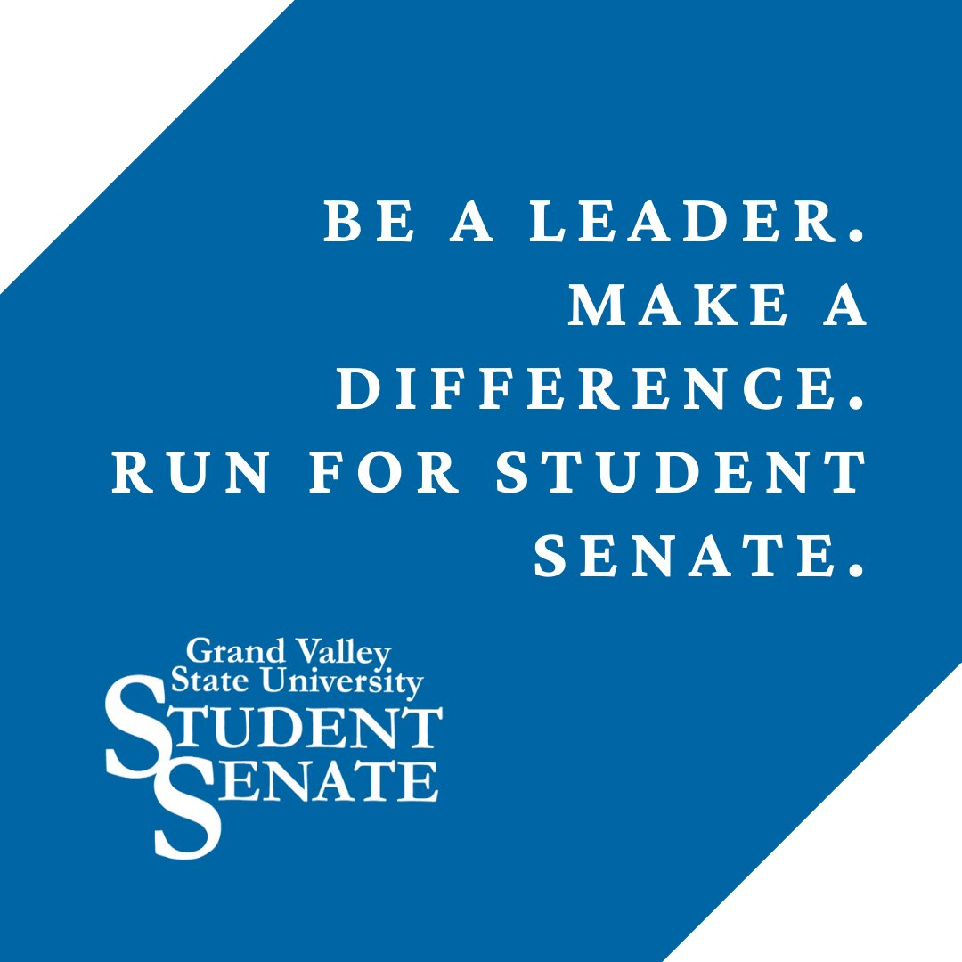 Photo 2 of 2 on twitter from user @GVStudentSenate.