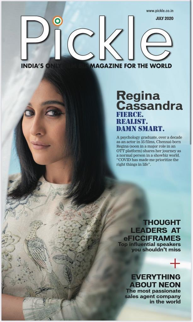E-Mag of #PickleMagazine for the curtain raiser of FICCI frames for 2020 ft our very own @ReginaCassandra  😍😍😍 Check out the magazine here - https://t.co/rrccfBmMDM  @artistmanageIND https://t.co/X6D05vr5fH
