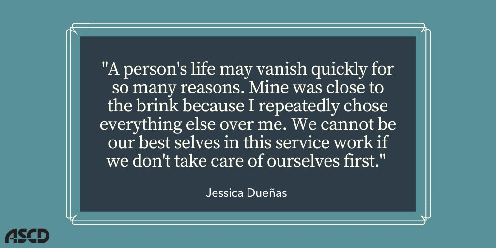 Educators cannot be there for students if they don't take care of themselves first. @NNSTOY teacher @JDuenas24 shares the wake-up call that saved her life. #MentalHealthAwareness https://t.co/GEvO1Zu7FJ https://t.co/Ft609aFUZ7
