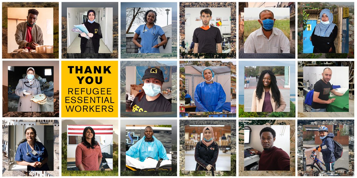 .@RESCUEorg is honoring refugees around the world who are essential workers keeping our communities safe during COVID-19.   Visit https://t.co/G0wuLKGLfM to send letters of support today. #NBATogether #ActsOfCaring https://t.co/OZFtzeW4C0