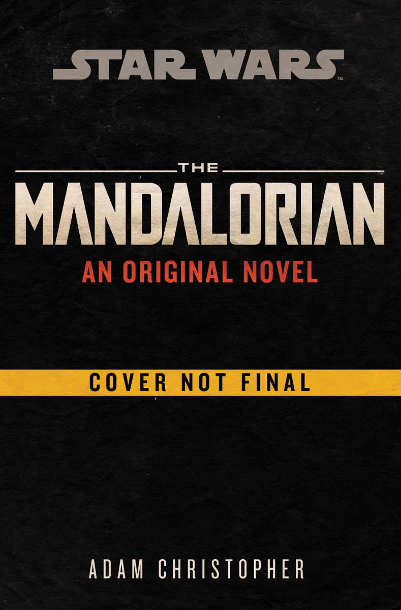 Attention, fellow members of the Tribe! Amazon have #StarWars  #TheMandalorian original novel up for pre-order at 22% off the hardcover. It's out in December, so go get your pre-order in!  https://www. amazon.com/gp/product/059 335561X  … <br>http://pic.twitter.com/K9SfeiwGhT