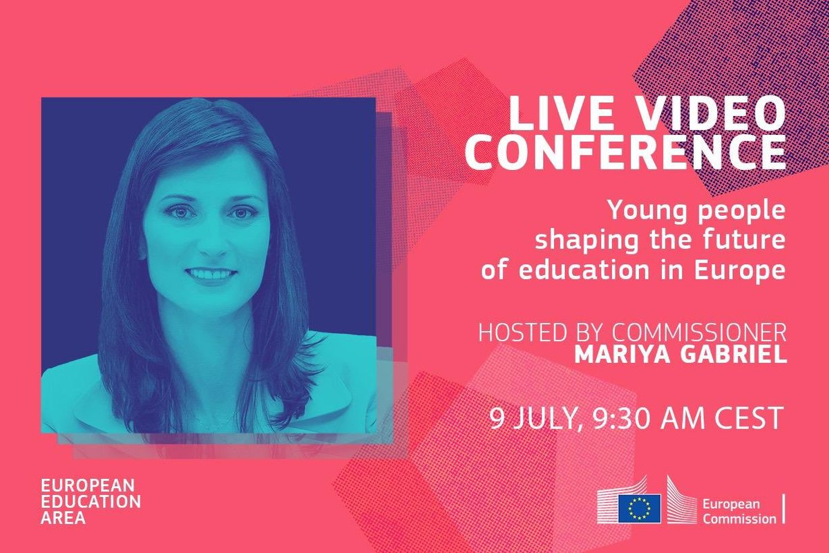 We want #EuropeanEducationArea that is more #inclusive, #digital & #green & focused on #teachers & #students. To achieve our goals, dialogue w/ young people is key! Join us for conference w/ #youth representatives: 🟢 9 July at 9:30 CET 👉europa.eu/!yN46rv