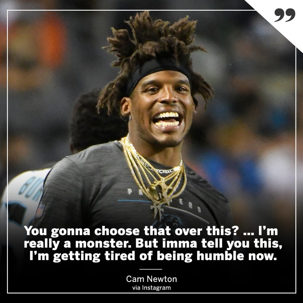 Cam Newton with a message‼️ https://t.co/Gp763NU7oX