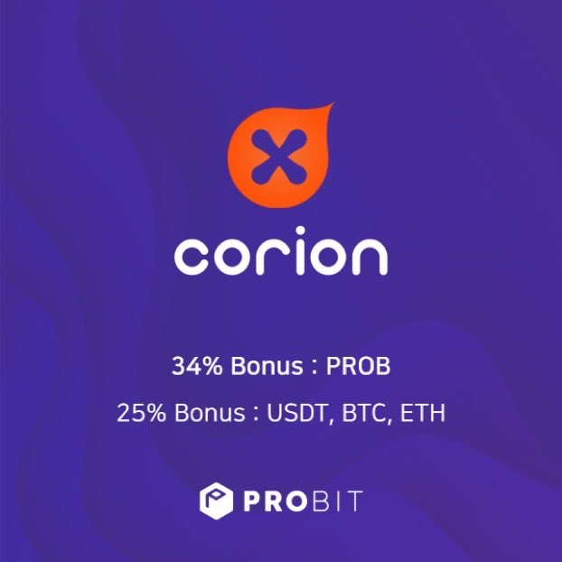CorionX as an utility token stands for the adoption, usage & spreading of stablecoins, CBDCs, OpenFinance, Crypto & DeFi solutions. It's introducing them to the world. $CORX #IEO on @ProBit_Exchange from 20th of July! #MoneyInTheRightDirection Details: 👉