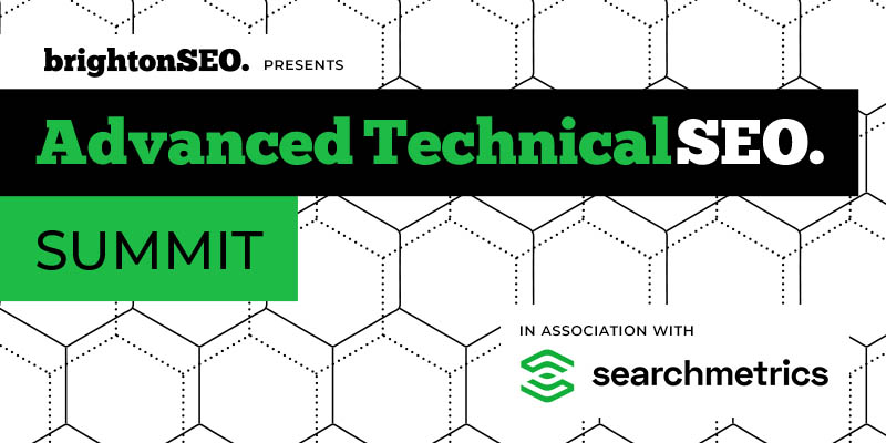 Get technical at the Advanced Technical SEO Summit. A bunch of free talks by SEO experts from the #brightonSEO team in association with @searchmetrics - https://t.co/bBVgV5ij4u https://t.co/n8s8J69t87