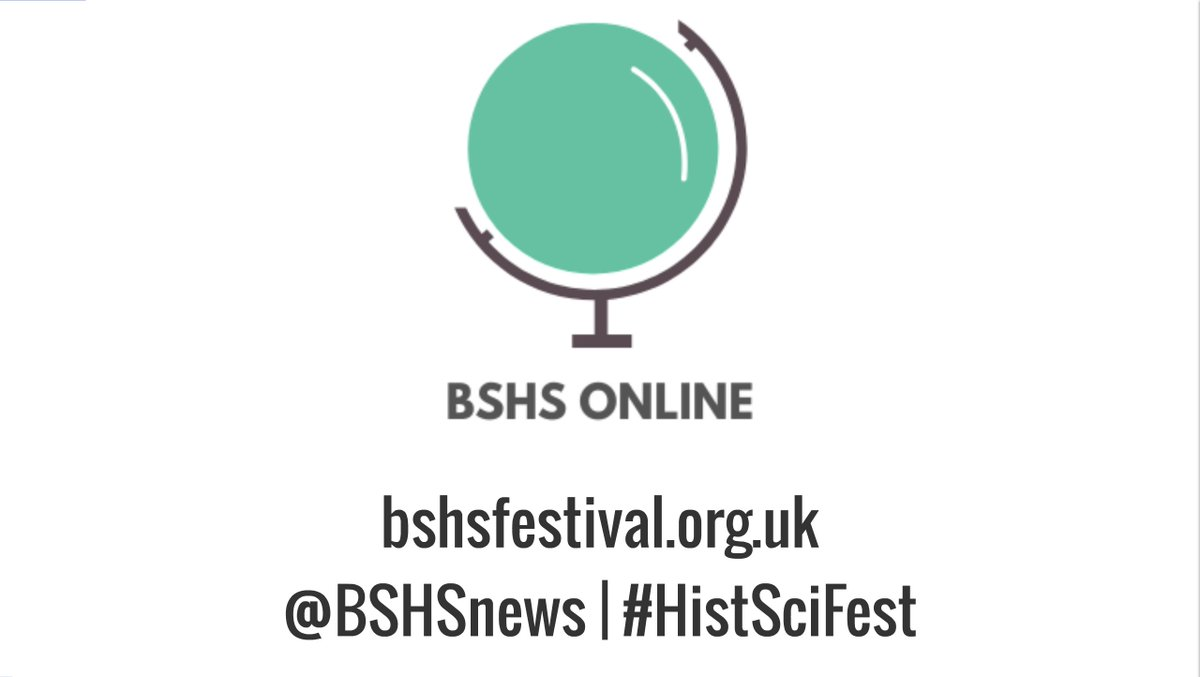 Our FREE Global Digital History of Science Festival (#HistSciFest) is on THIS WEEK! 6th-10th July 2020  Our new dedicated Festival website has all the details: https://t.co/4YvaiI9V8b - please note some events require pre-registration  #HSTM #HistSTM #HistSci #HistTech #HistMed https://t.co/lVucJHxqci