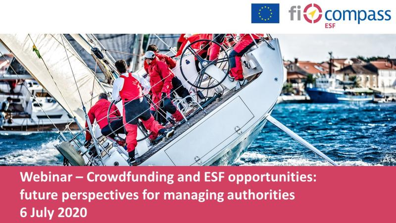 📢#TODAY we host the #ficompass webinar on #Crowdfunding and #ESF opportunities! Experts from the @EIB, the @EU_Commission, @LazioInnova & @INVEGA_LT  will share insights on how to achieve #socialimpact through #crowdfunding & #ESF #financialinstruments👉 https://t.co/rH87U8p4b9 https://t.co/o2XtiptpgX
